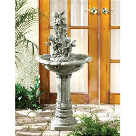 Zingz & Thingz 57070042 Playful Cherubs Outdoor Garden Water Fountain