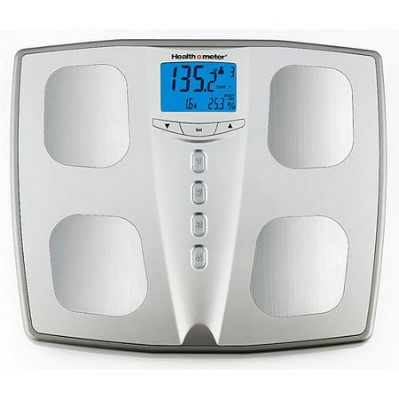Health O Meter Silver Body Fat Monitoring Bath Scale