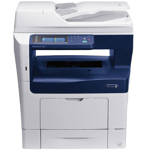 Xerox WorkCentre 3615DN Monochrome Laser Multifunction Printer/Copier/Scanner/Fax Machine