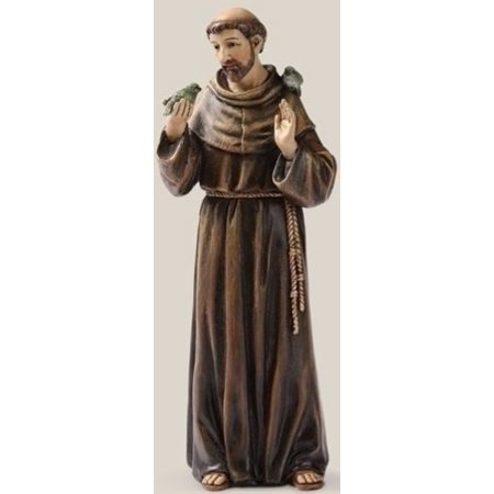 Renaissance Collection Joseph's Studio by Roman Exclusive Saint Francis Figurine, 6.25-Inch