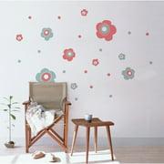 ADZif Spot Pop Flower Wall Decal
