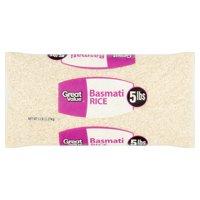 Great Value Basmati Rice, 5 lb