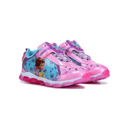 Toddler Girls Fancy Nancy Light-up Sneakers with Glitter