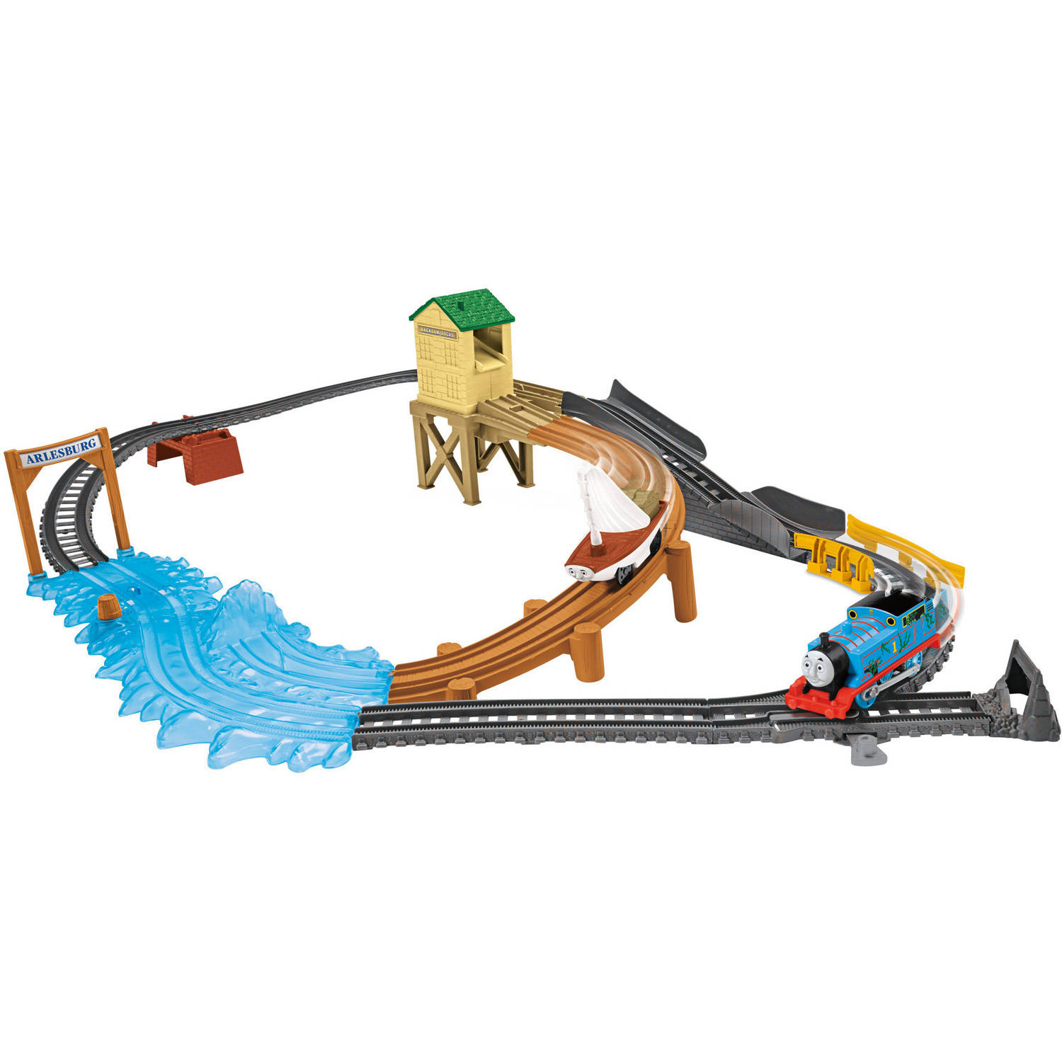 Fisher-Price Thomas and Friends Trackmaster Treasure Chase Set