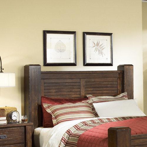 Progressive Furniture Inc. Trestlewood Wood Headboard