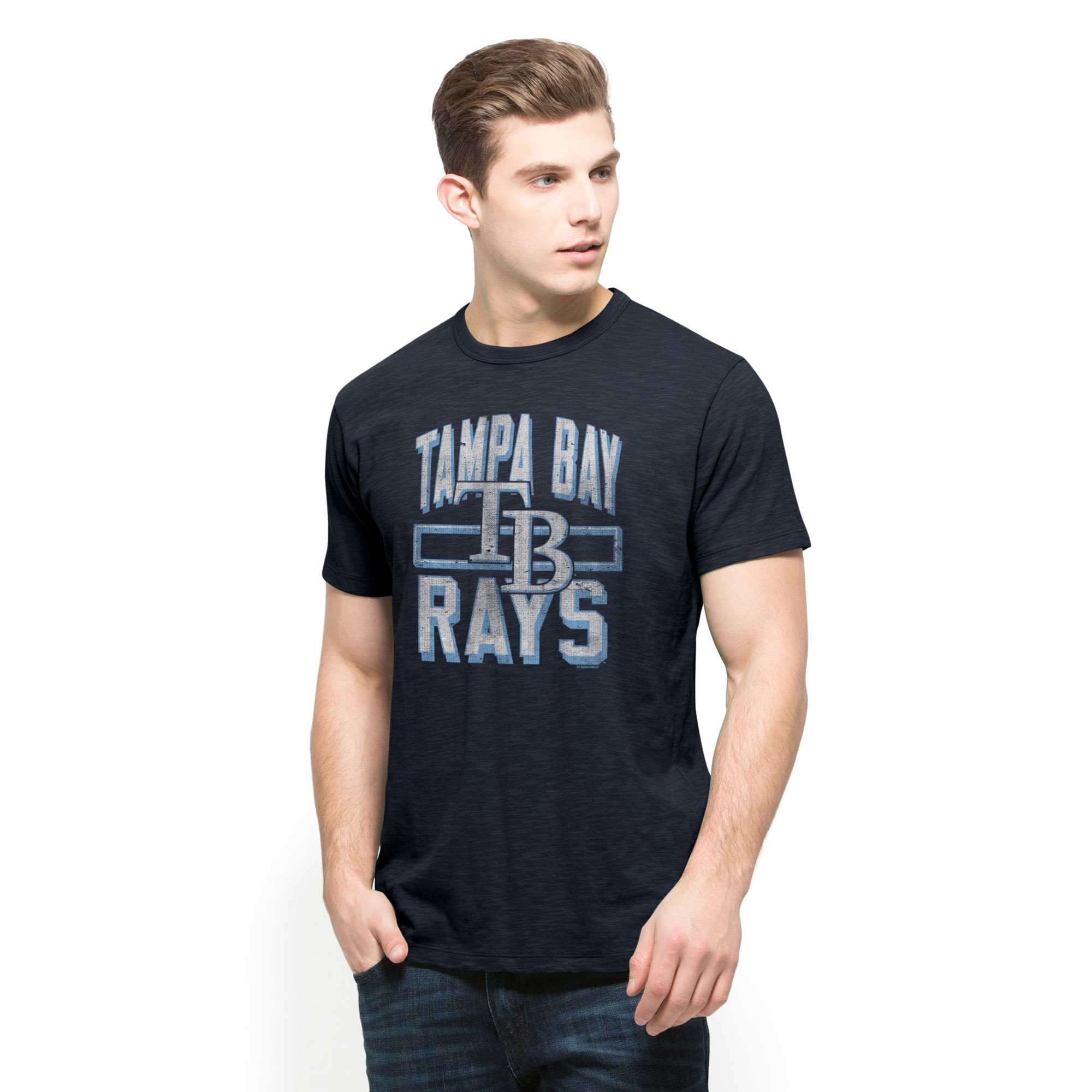 Tampa Bay Rays '47 Scrum T-Shirt - Navy