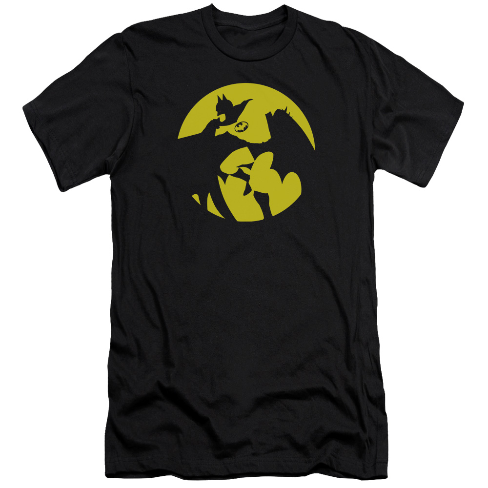 DC Comics Batman Spotlight Mens Premium Slim Fit Shirt