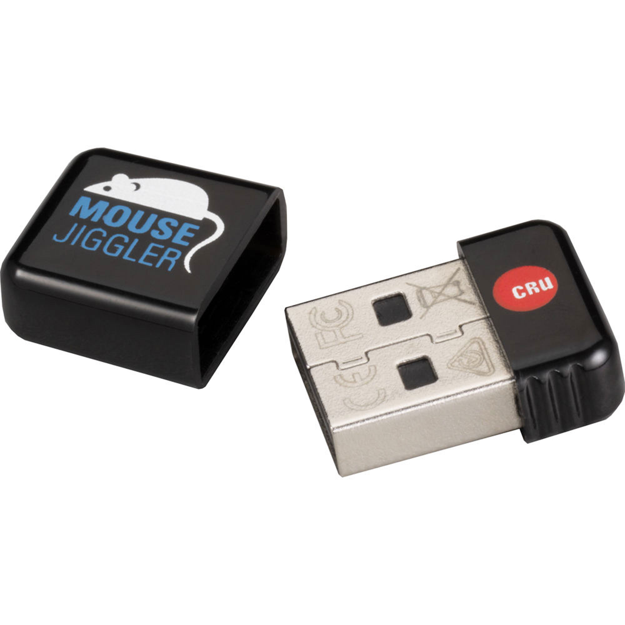 CRU-DataPort Jiggler 30200-0100-0023 10-pack of Mouse Jiggler MJ-3 (automatic mouse activity dongle -- programmable), bulk-packaged