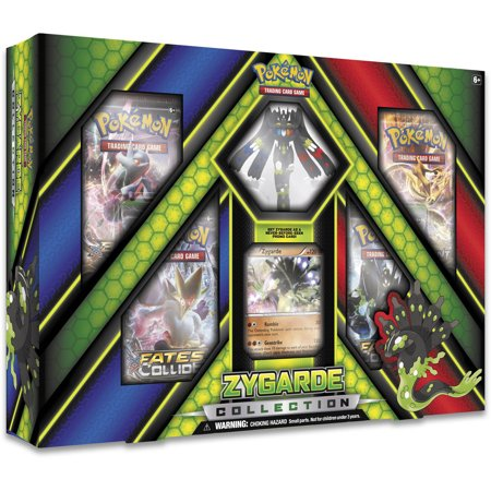 Pokemon 2016 Zygarde Figure Ex Box