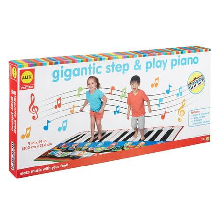Ez Play Piano - ALEX Pretend Gigantic Step and Play Piano