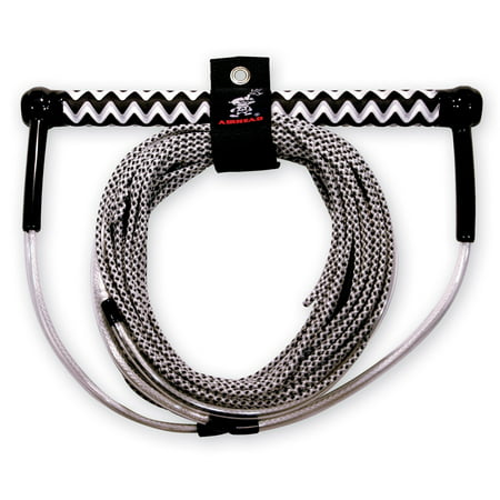 Airhead Spectra No Stretch Wakeboard Rope, Grey/Black/White, 70 (Best Airhead Wakeboardings)