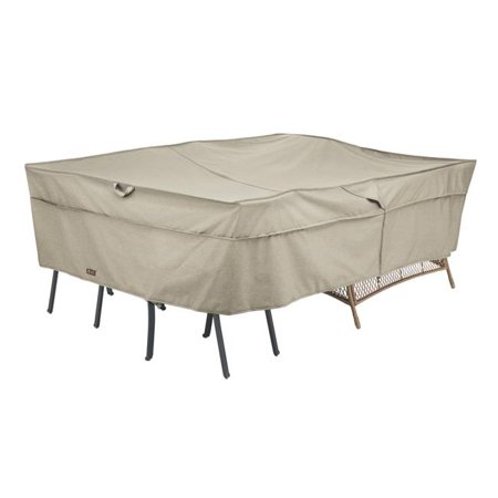 Madrona Rain Proof Double Wide Patio Chaise Lounge Cover