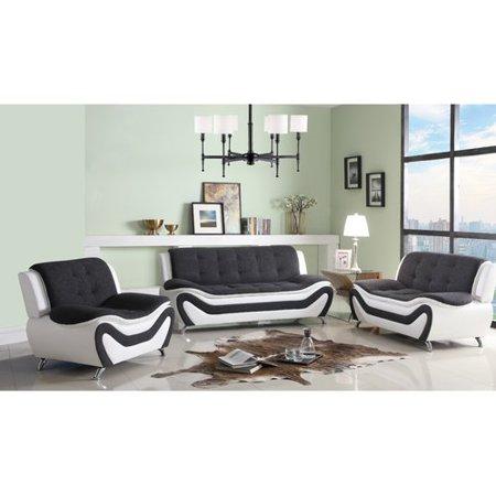 Orren Ellis Anouk Classical 3 Piece Conservatory Living Room Set ()
