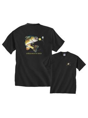 Largemouth Bass Profile Fishing T-Shirt