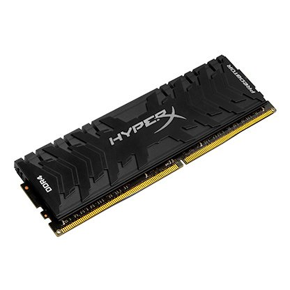 Kingston Technology HyperX FURY Black 16GB 2666MHz DDR4 CL16 DIMM Kit of 2 1Rx8 - HX426C16FB2K2/16 Kingston Technology Dimm Memory