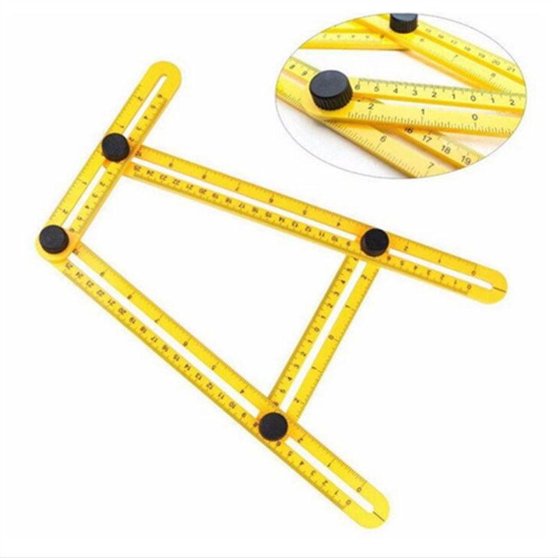 Angle Ruler, Angle Measurement Tool,Glink Angle-izer Template Tool Multi-Angle Measuring... by