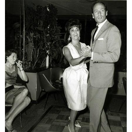 Elizabeth Taylor dancing with Mel Ferrer Photo Print](Mel Taylor Pimp)
