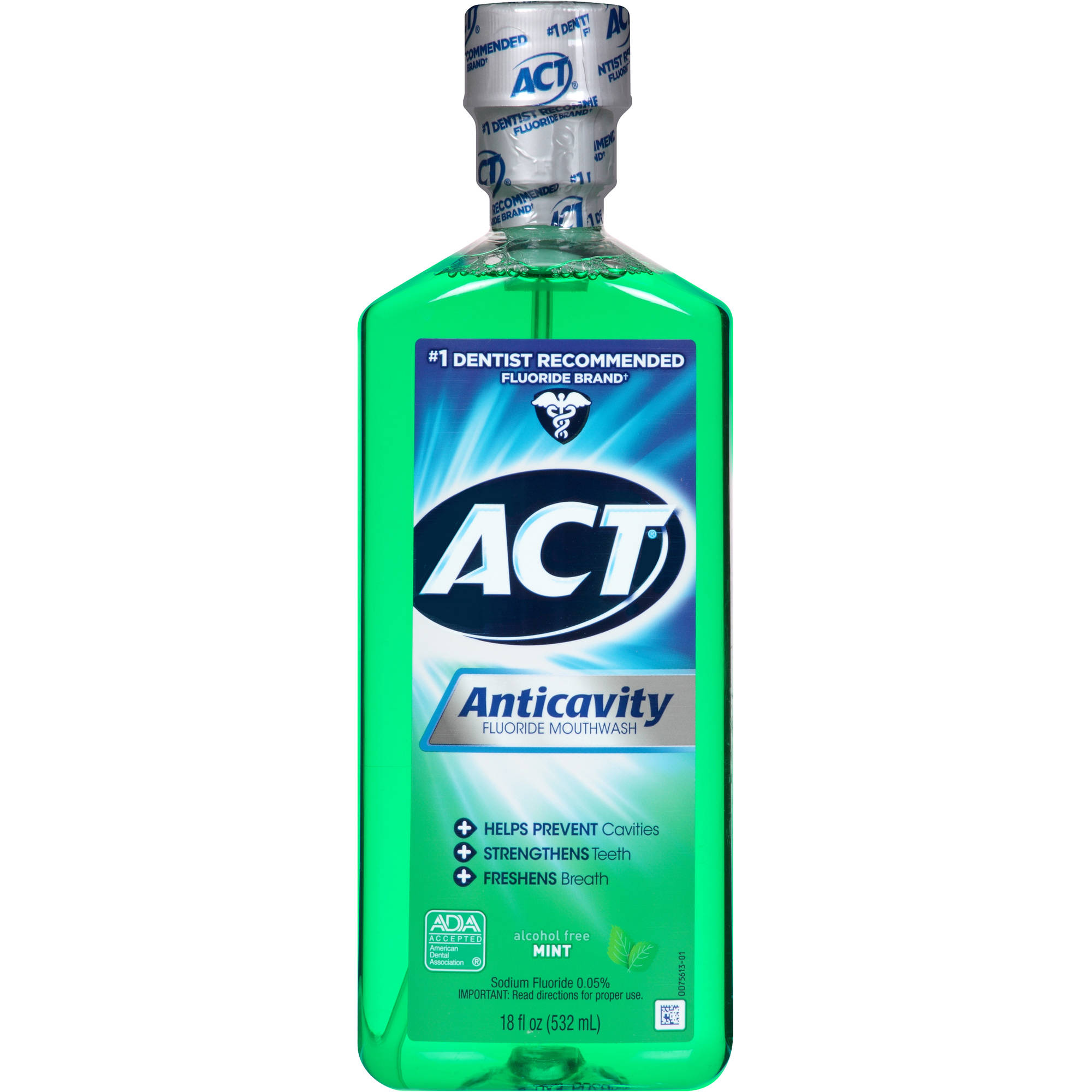 Act Fluoride Rinse Mint Anticavity, 18 fl oz