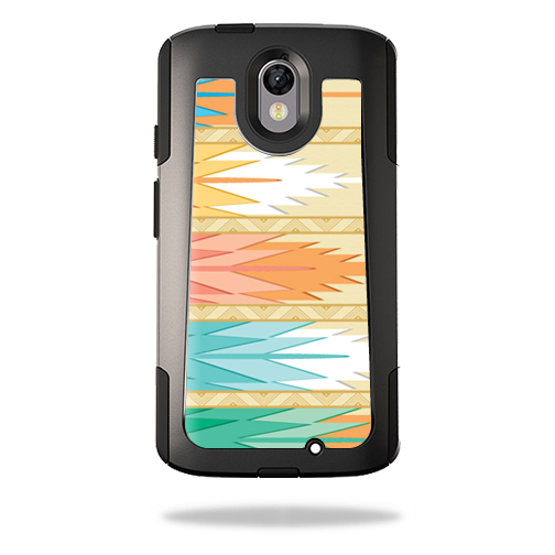 MightySkins Protective Vinyl Skin Decal for OtterBox Commuter Motorola Droid Turbo 2 wrap cover sticker skins Multi Tribal
