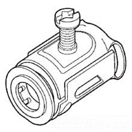 Midwest QLK50S 1/2 in. Armored Cable and Flex Metal Conduit Quick-Lok Connector,