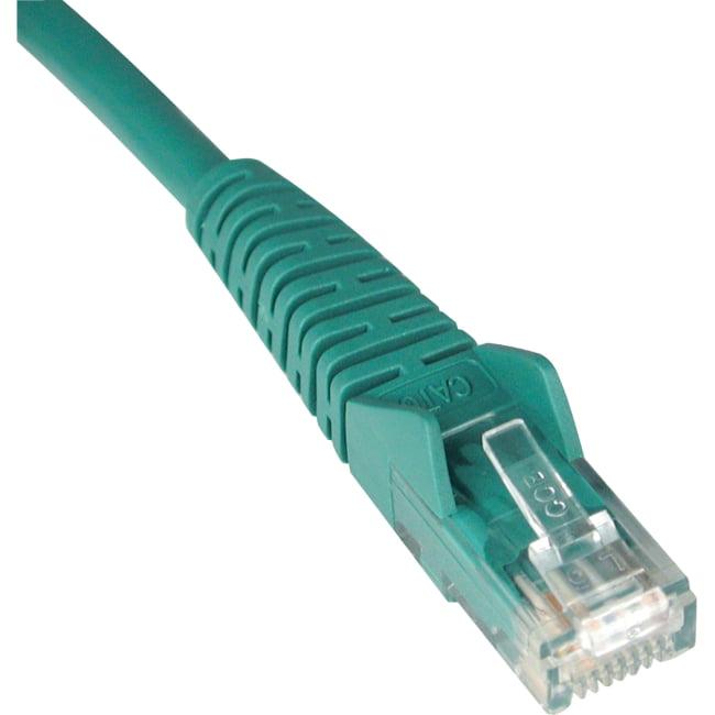 Tripp Lite 3ft Cat6 Gigabit Snagless Molded Patch Cable (RJ45 M/M) - Green