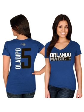 Victor Oladipo Orlando Magic Majestic Women's Name & Number V-Neck T-Shirt - Blue