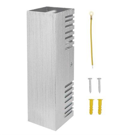 Ejoyous  Lumière blanche chaude en aluminium de lumière de mur de lampe de l'effet blanc chaud de 6W pour le décor d'éclairage intérieur, LED d'intérieur, lumière d'intérieur - image 1 de 12