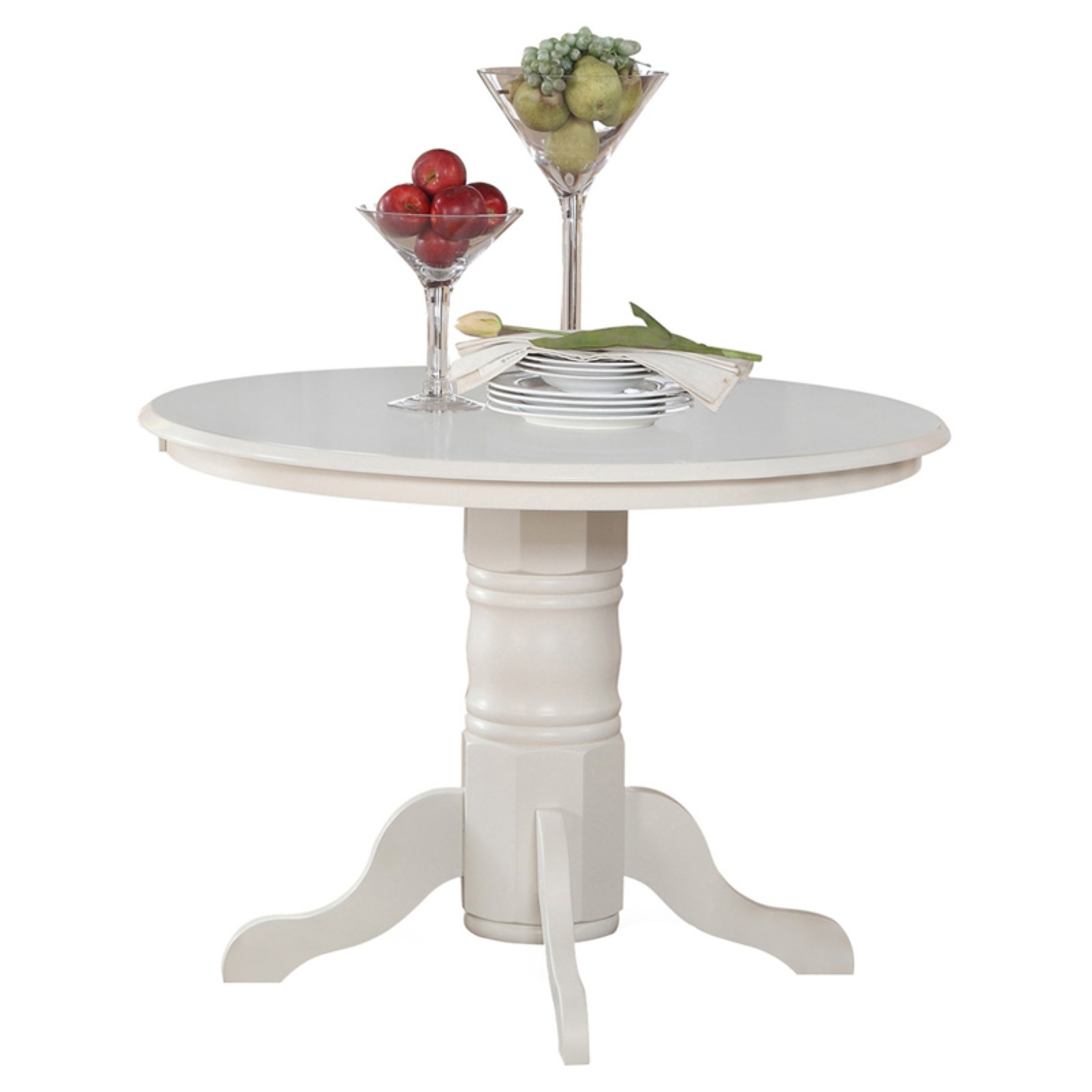 Click here to buy East West Furniture Shelton 42 Inch Round Pedestal Dining Table by East West Furniture.