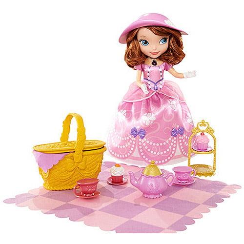 Disney Sofia the First Tea Party Picnic Doll