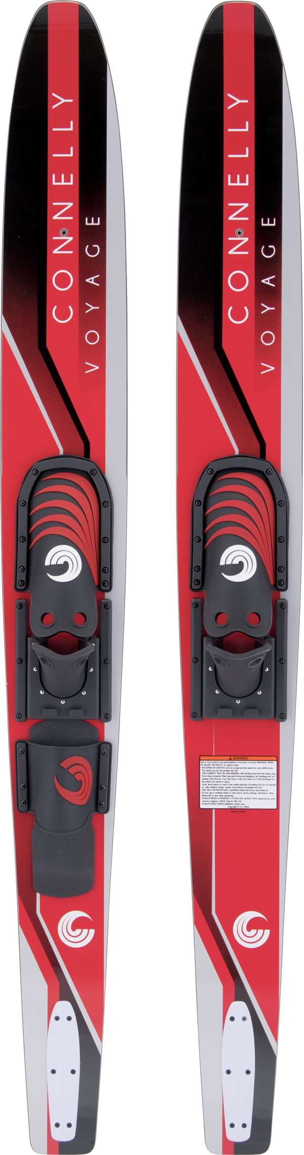 Voyage 68 Adjustable Bindings Connelly Combo Water Skis by Connelly