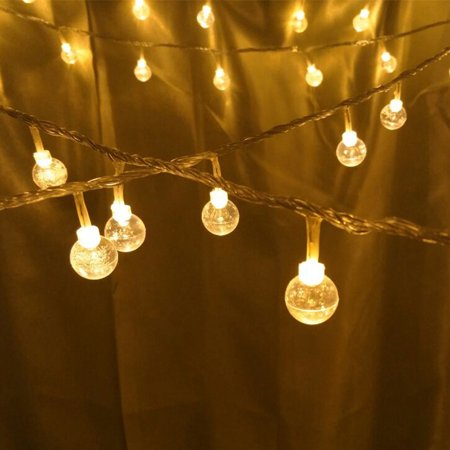 Wedlies Waterproof 20/30 LED Outdoor String Lights Twinkle Star Line Wire Lights Christmas Party Garden Decor ()