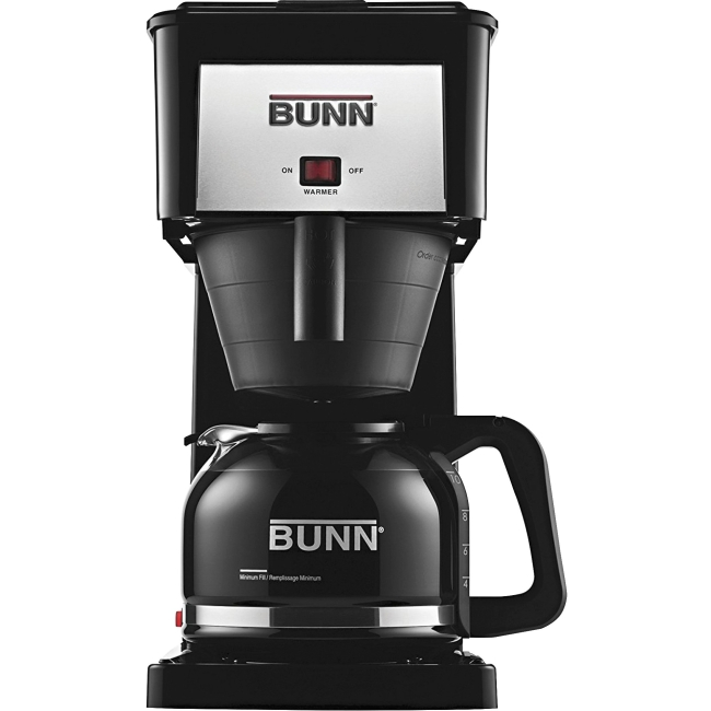 383000020 BUNN BX-B Sprayhead Coffee Maker - 900 W - 10 Cup(s) - Black