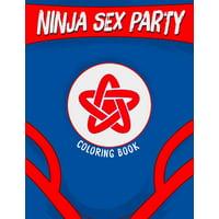 Ninja Sex Party Coloring Book