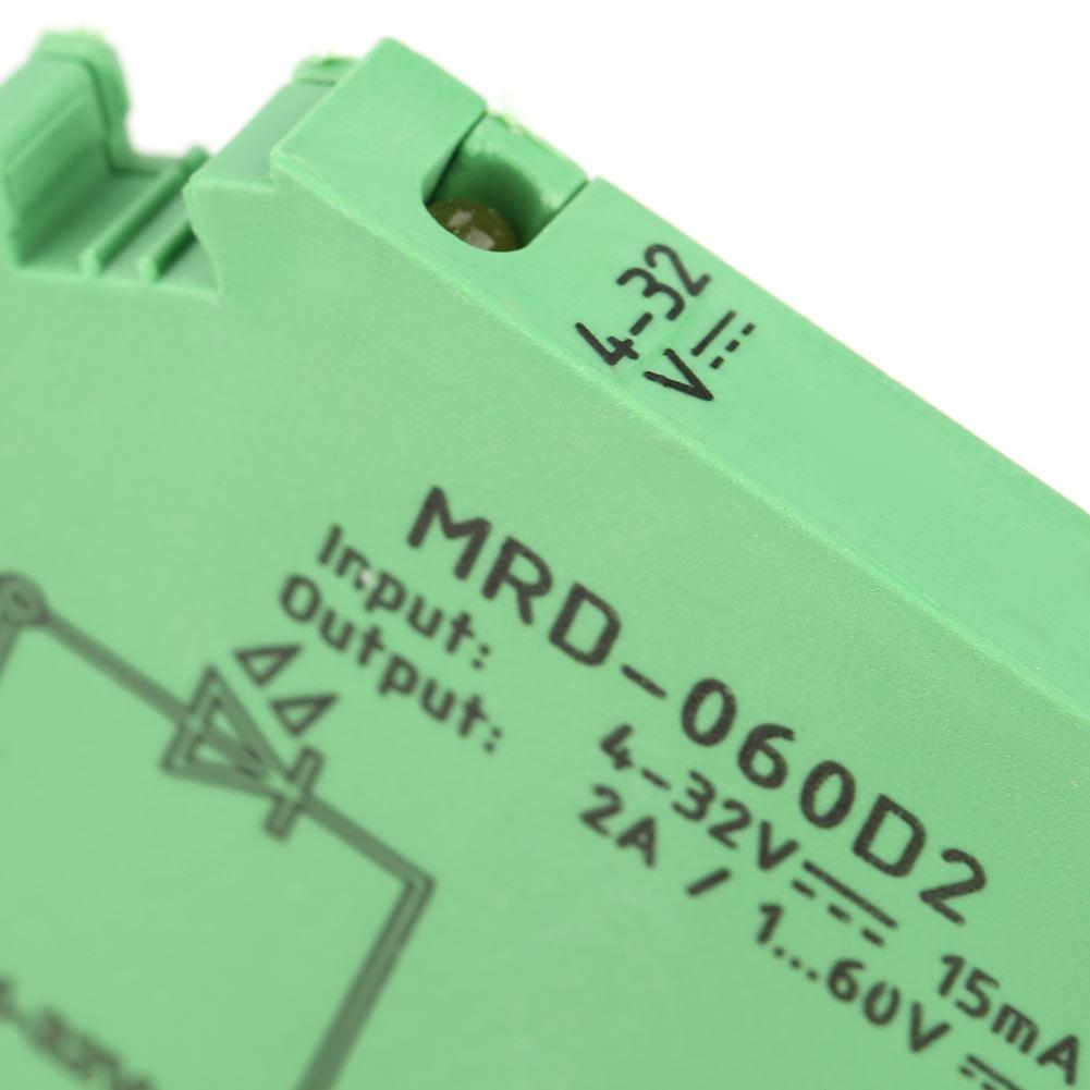 MRD-060D2 Ultra-Thin 6.2mm DIN Rail Relay Solid State Relay Module Input 3-32V
