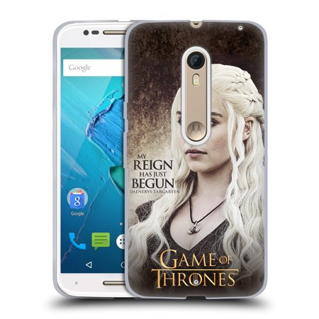 Moto Throne (OFFICIAL HBO GAME OF THRONES CHARACTER QUOTES SOFT GEL CASE FOR MOTOROLA PHONES)