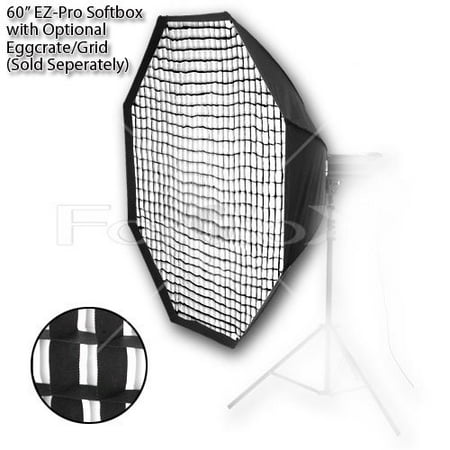- Pro Studio Solutions EZ-Pro 60in (150cm) Octagon Softbox for Studio Strobe/Flash with Soft Diffuser and Dedicated Speedring for Novatron M Series and FC Series Monolight