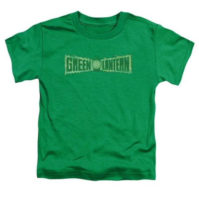 Trevco Green Lantern-Pink Emblem Short Sleeve Toddler Tee44; Black Small 2T