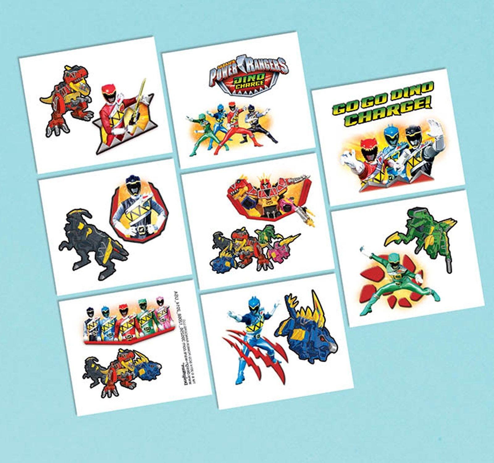 Power Rangers Dino Charge Thank-You Postcards, 8pk