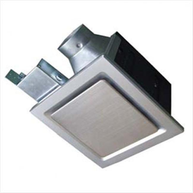 Aero Pure Bathroom Fans SBF80G5S Aero Pure Fan -SBF80G5Silver with Stainless Steel Trim- 80 CFM Super Quiet Bathroom