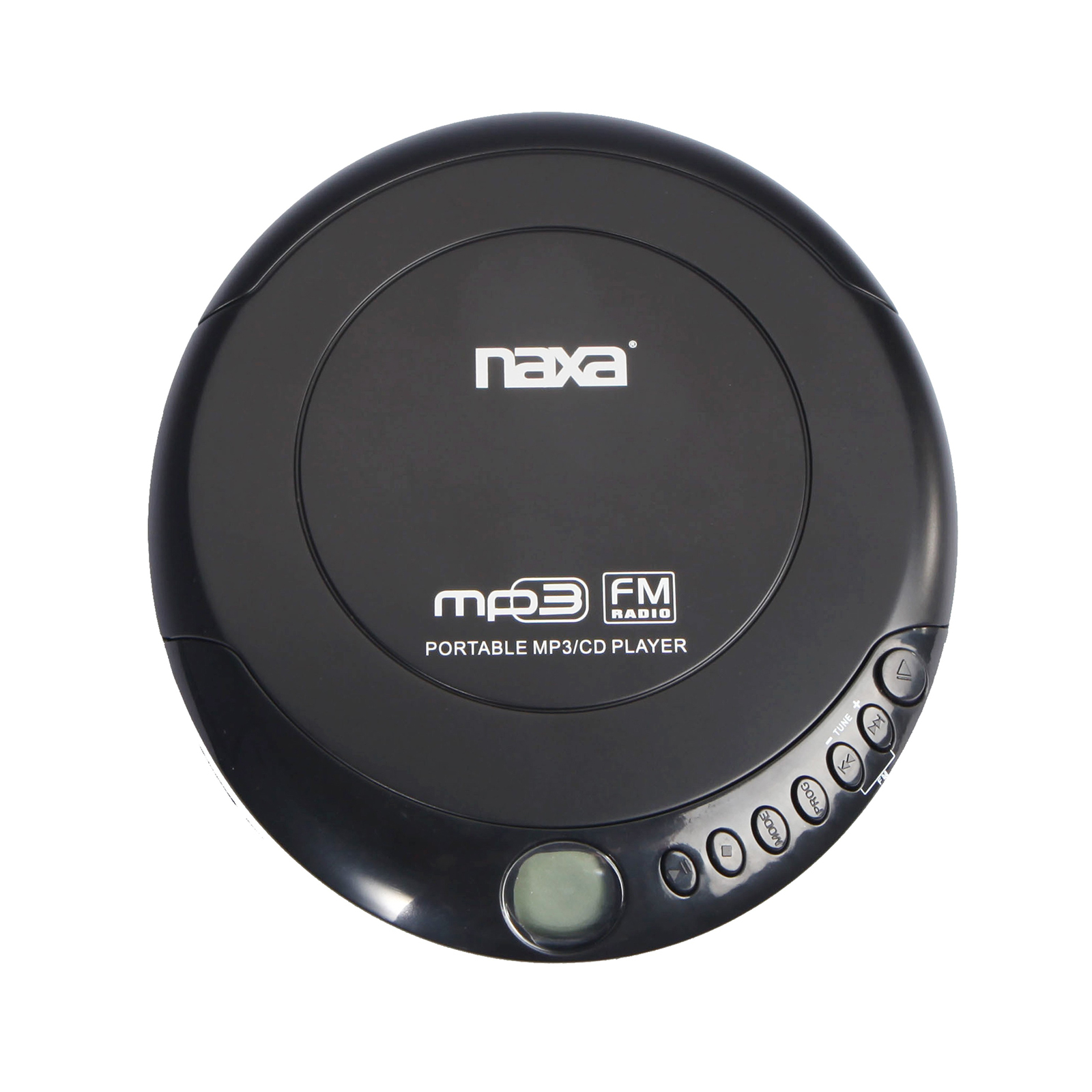 Slim Personal MP3/CD Player with 100 Second Anti-Shock & FM Scan Radio