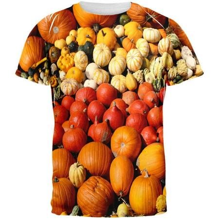 Halloween Rows of Pumpkins All Over Adult - Halloween Pumpkin Song Lyrics