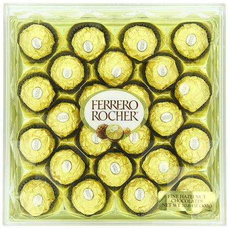 Ferrero Rocher Diamond Gift Box, 10.6 Oz., 24 Count