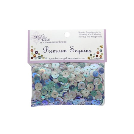 BGMPS 766 BUTTONS GALORE LL PREMIUM SEQUINS PLUM FANCY