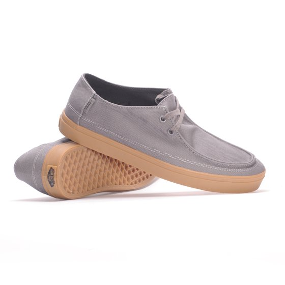 e748d149a19eb5 Vans - Vans Men s Rata Vulc Sf Pewter Gum Ankle-High Canvas Fashion Sneaker  - 8.5M - Walmart.com