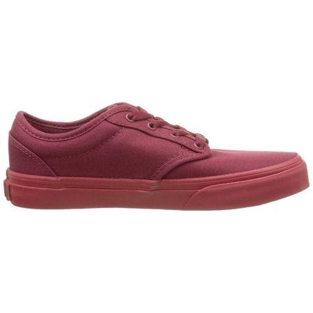 82d0090d0f Vans - Vans Kid s youth Atwood Shoes Check Liner Burgundy Sneakers (6.5) (7  M US Big Kid) - Walmart.com
