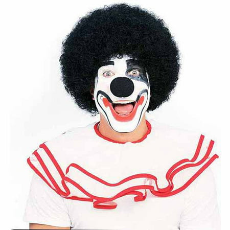 Black Afro Wig Adult Halloween Costume Accessory - Afro Wig