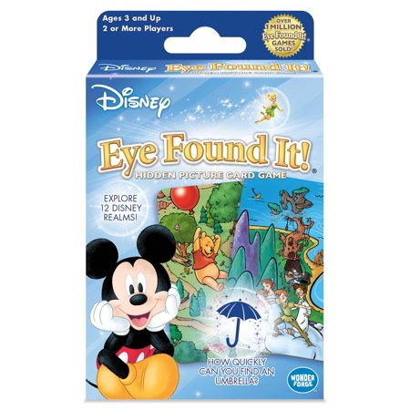 Card Game Toy (Games - Disney - Eye Found It! Card Toys Licensed New 01308)