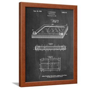 Etch a Sketch Framed Print Wall Art By Cole Borders