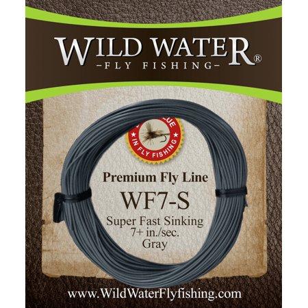 Wild Water Weight Forward 7 Weight Super Fast Sinking Fly Line
