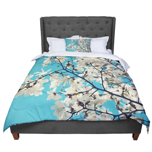 East Urban Home Sylvia Cook Magnolias Comforter